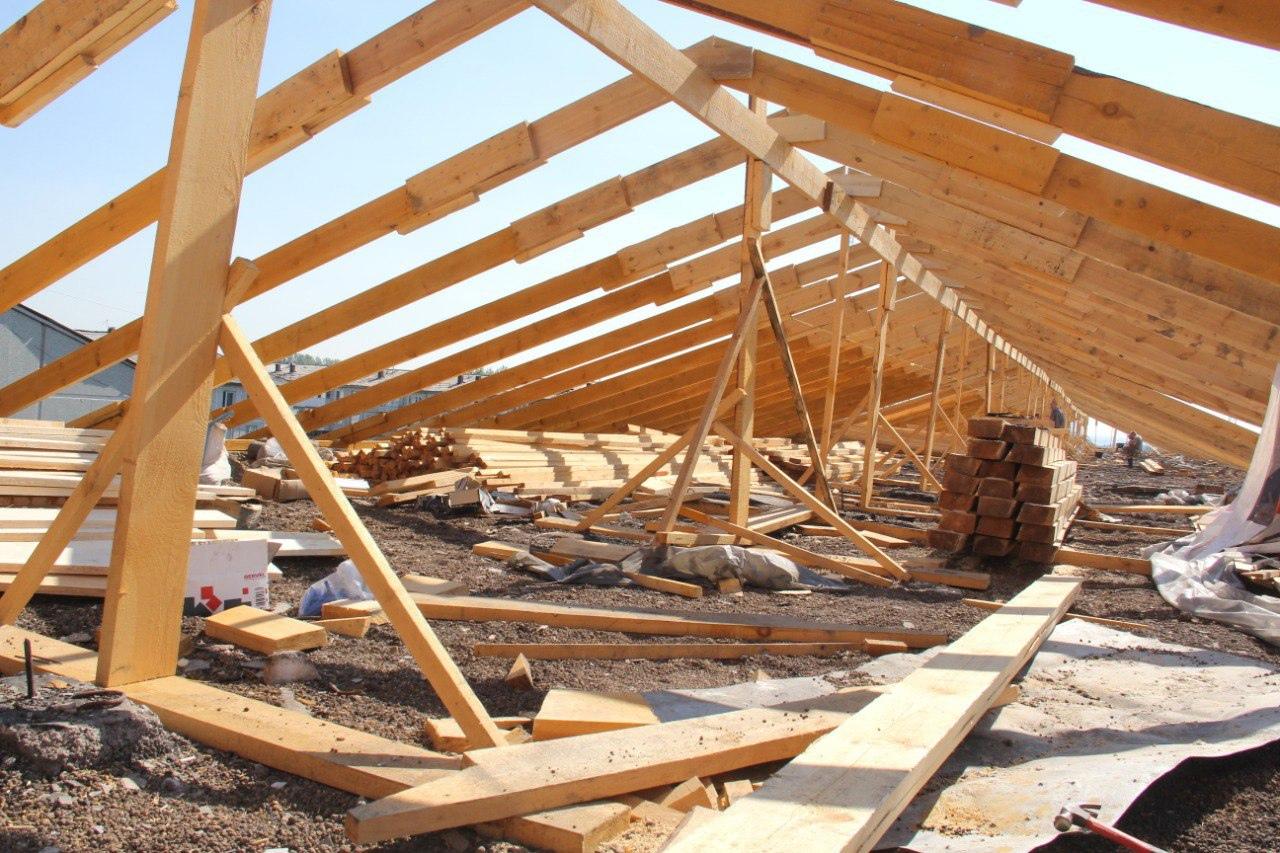 Ремонт сгоревшей крыши пятиэтажки РІ РћРјСЃРєРµ хотят закончить уже через месяц #Новости #Общество #Омск