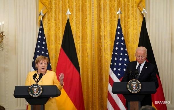 Байден и Меркель приняли совместную декларацию