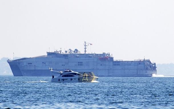 Корабль ВМС США покинул Черное море