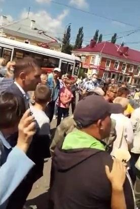 Р' РћРјСЃРєРµ устроили акцию протеста РёР·-Р·Р° обязательной вакцинации #Новости #Общество #Омск