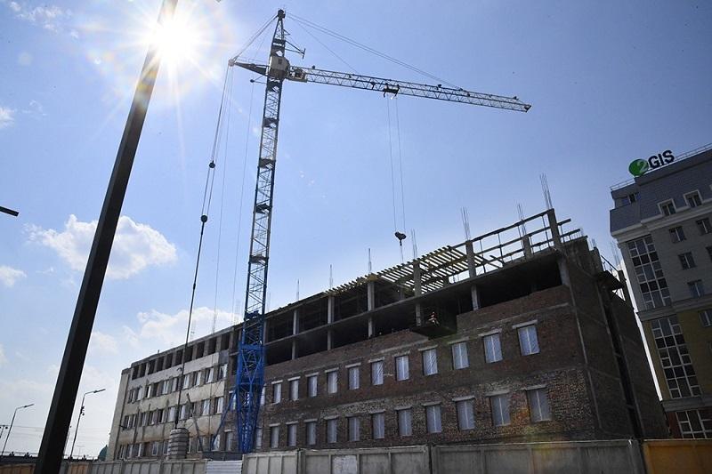 В Омске уже ищут персонал для строящейся гостиницы Hilton