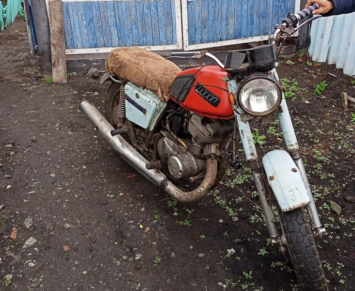 Житель Омской области купил у воров свой же мотоцикл #Омск #Общество #Сегодня