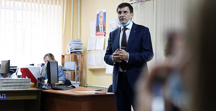 Игорь Зуга встретился с членами КТОСов, чтобы принять наказы #Новости #Общество #Омск