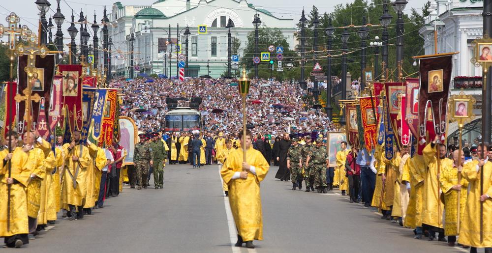 Крестный ход в Омске отменили: названа причина #Омск #Общество #Сегодня