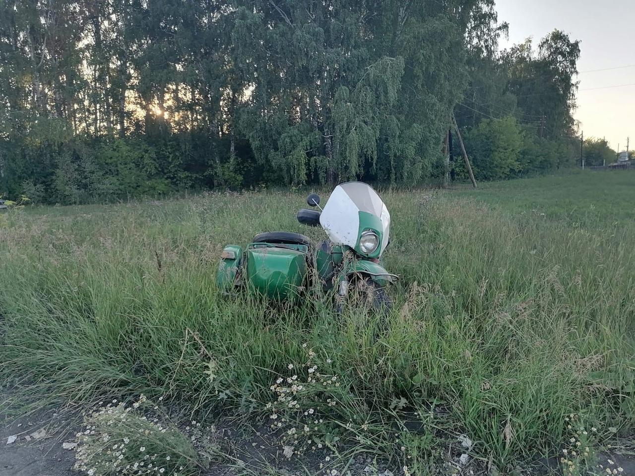 В Омской области насмерть разбился мотоциклист #Новости #Общество #Омск