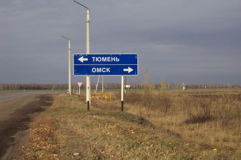 На омской трассе погиб мужчина: его переехали сразу две машины #Омск #Общество #Сегодня