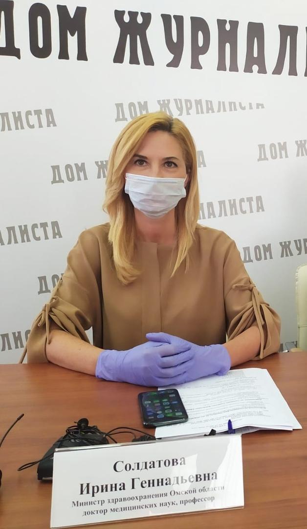 Солдатова уверяет, что благодаря ей Омск готов к коронавирусу #Омск #Общество #Сегодня