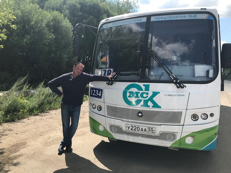 «Мы культурно возим людей»: как работают водители омских автобусов #Новости #Общество #Омск