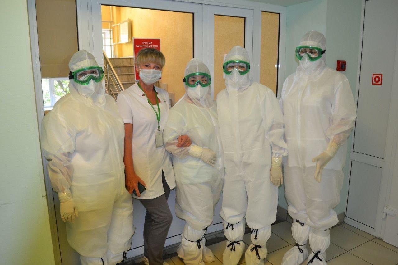 В Омске госпиталь на базе ФМБА снова принял «ковидных» пациентов #Новости #Общество #Омск