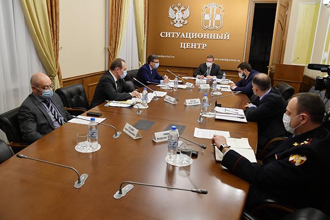 Бурков намекнул, что в Омске могут перенести еще ряд мероприятий #Омск #Общество #Сегодня
