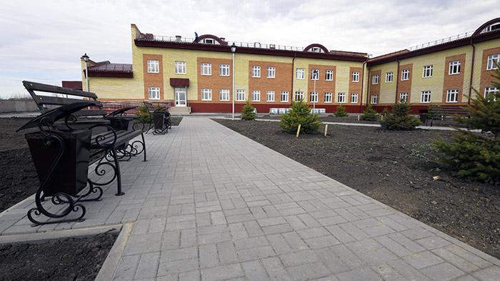 В Омске готов к сдаче в эксплуатацию новый корпус дома-интерната #Новости #Общество #Омск