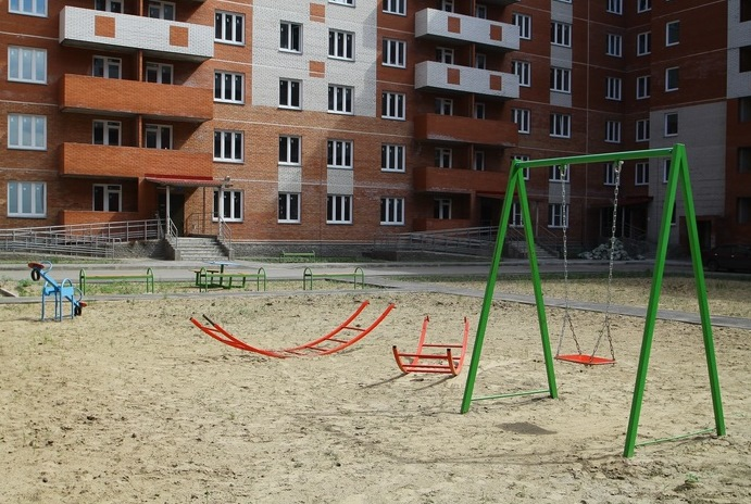 В Омске сдали еще один новый дом #Омск #Общество #Сегодня