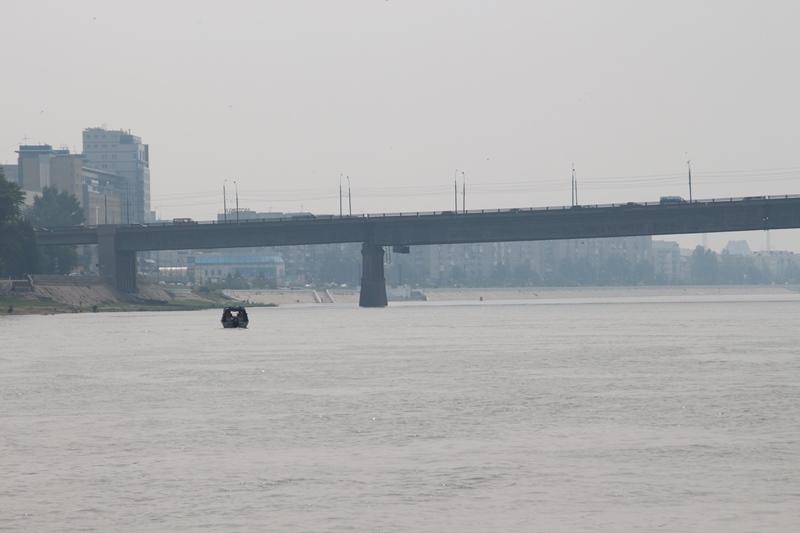 Молодой омич утонул в Иртыше возле Ленинградского моста #Омск #Общество #Сегодня