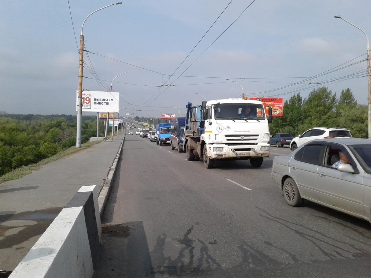 Ленинградский мост в Омске избавили от вечных стуков #Омск #Общество #Сегодня