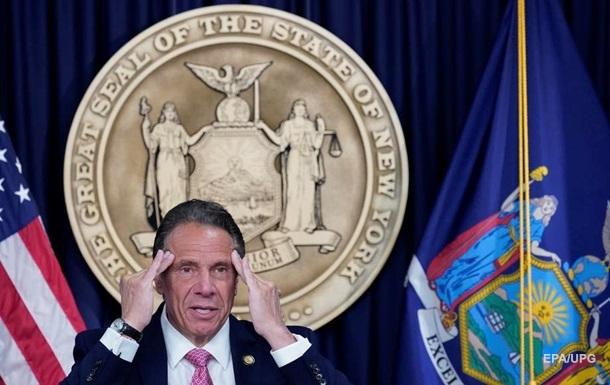 Губернатор штата Нью-Йорк объявил об отставке