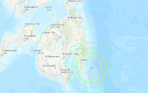 У берегов Филиппин объявили угрозу цунами