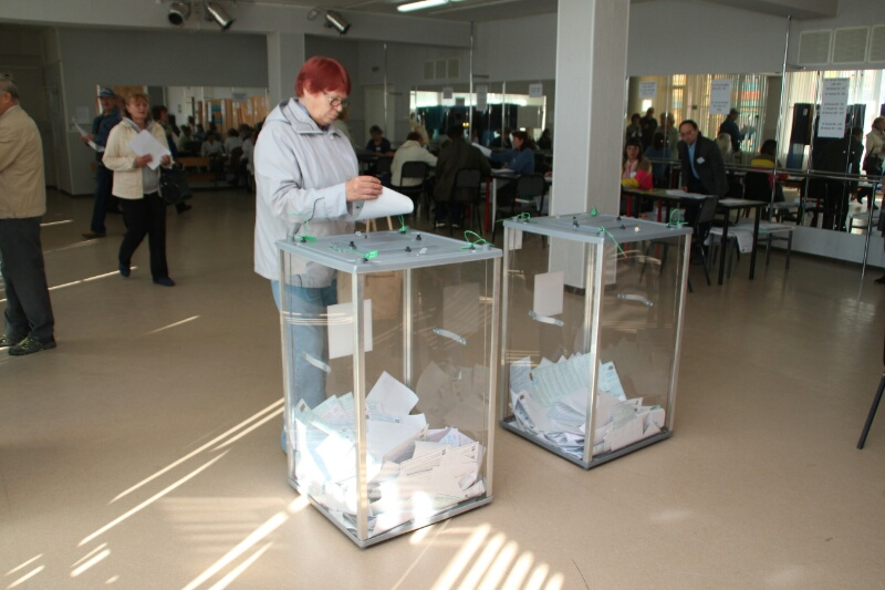 Следить за омичами на выборах будут с помощью видеорегистраторов #Омск #Общество #Сегодня