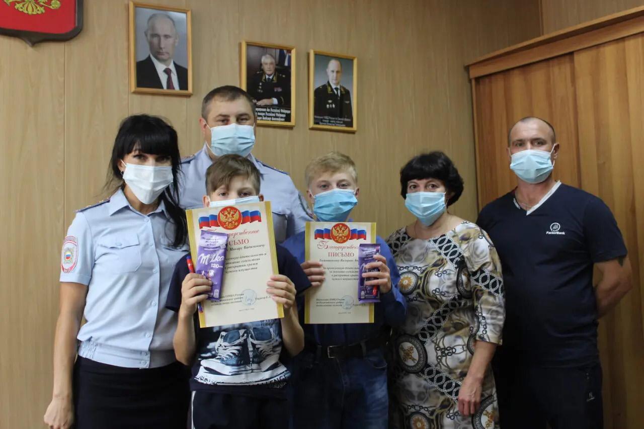 В Омской области двое подростков помогли в раскрытии преступления #Омск #Общество #Сегодня