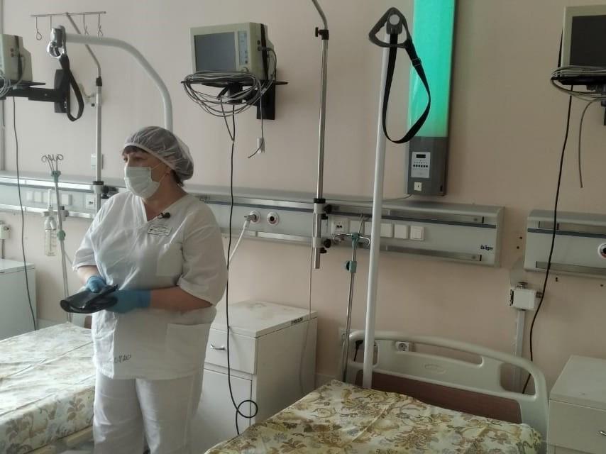 В Омской области занято 80 % коек с кислородом #Новости #Общество #Омск