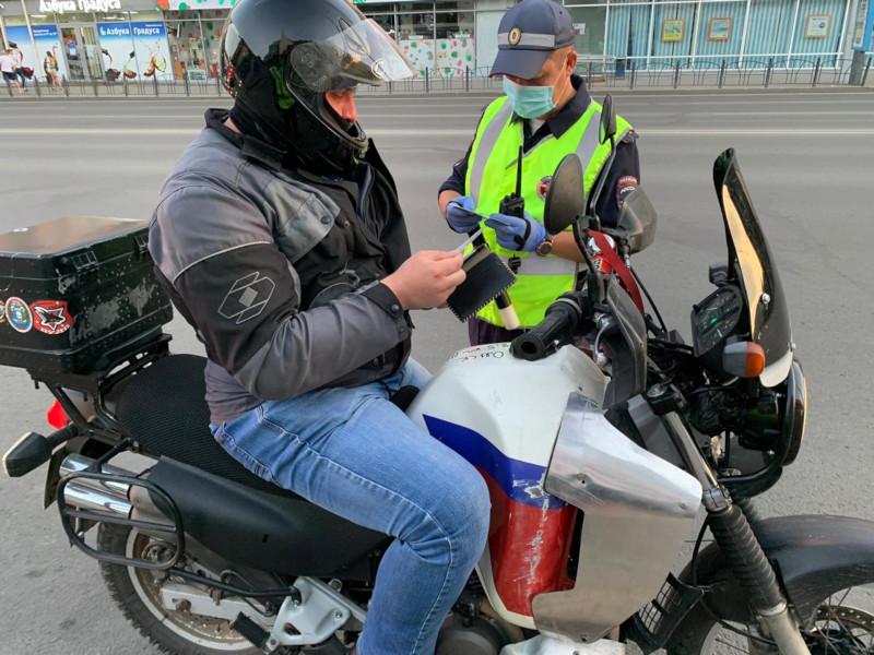 В Омске сегодня будут ловить байкеров-лихачей #Новости #Общество #Омск