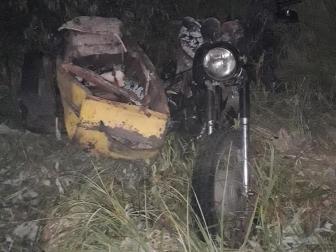 В Омской области двое подростков ночью перевернулись на мотоцикле #Омск #Общество #Сегодня
