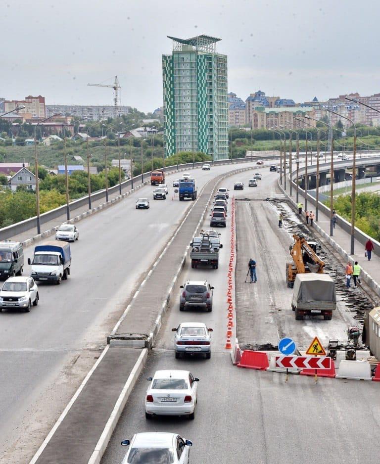 Ремонт Фрунзенского моста в Омске завершится раньше срока #Новости #Общество #Омск