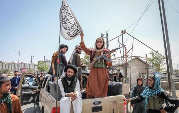 """Китай и Россия намерены признать """"Талибан"""""""