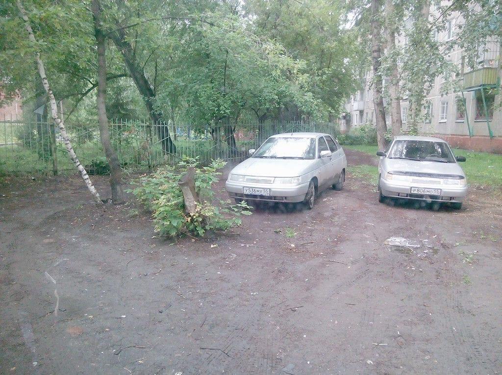 Омичей штрафуют за парковку в неположенных местах #Новости #Общество #Омск