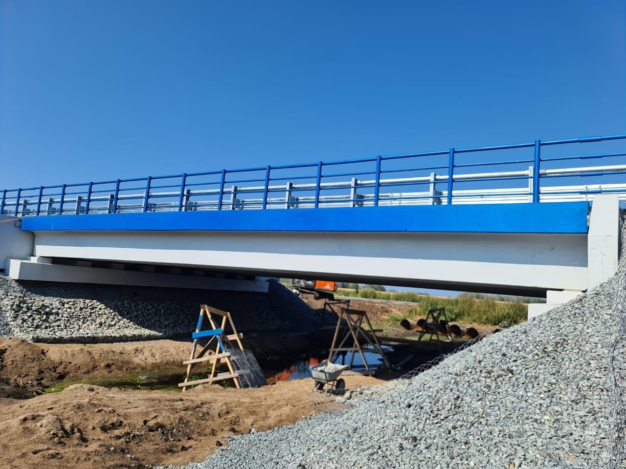 Под Омском построили мост через реку-«призрак» #Новости #Общество #Омск