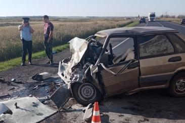 Страшная авария на трассе Омск – Тюмень унесла две жизни #Новости #Общество #Омск