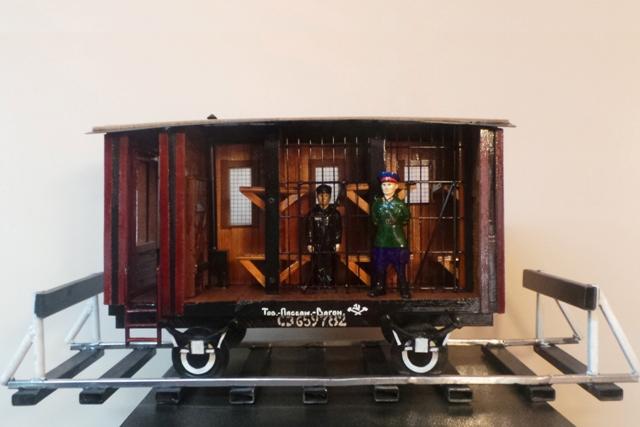 Омские заключенные сделали вагон для перевозки зэков #Новости #Общество #Омск