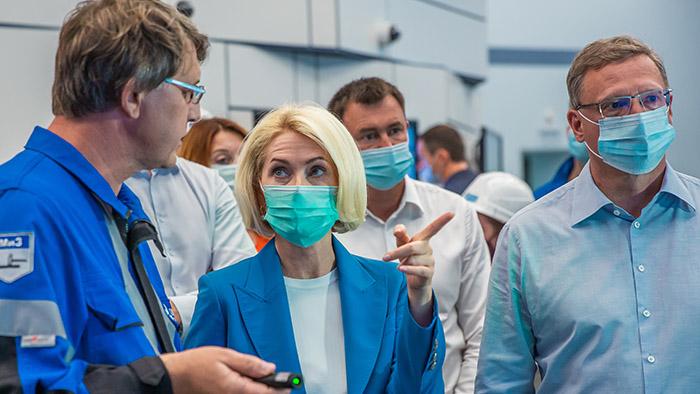 Абрамченко оценила экологические проекты Омского НПЗ