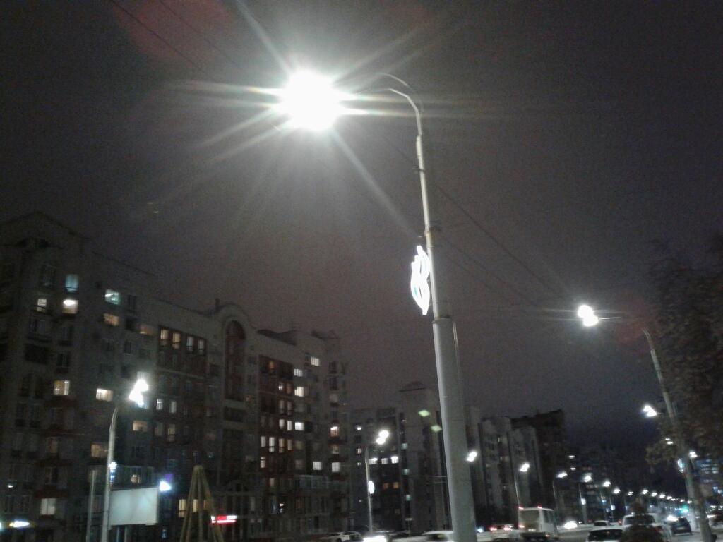 Улица Светловская станет светлее за 11 млн #Новости #Общество #Омск