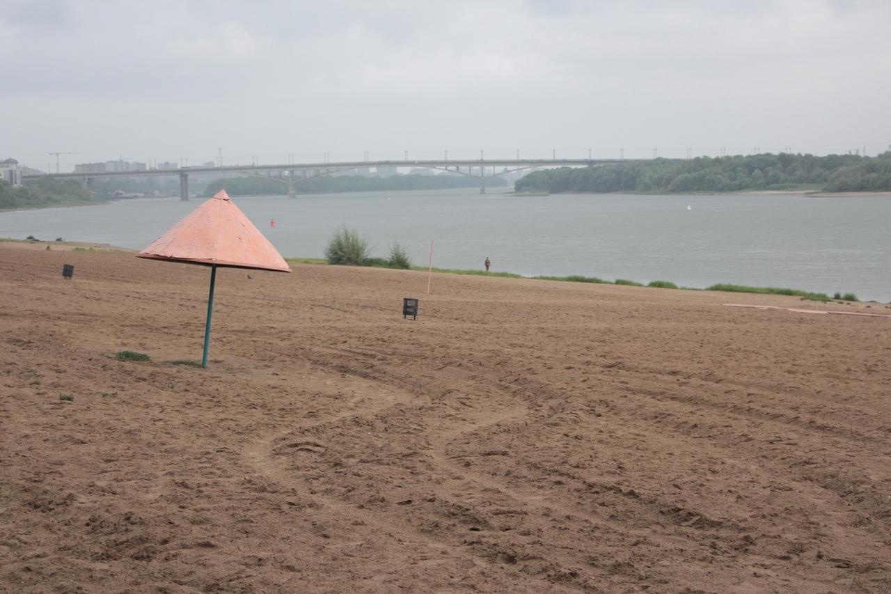 Вот и лето прошло: в Омске закрываются пляжи #Новости #Общество #Омск