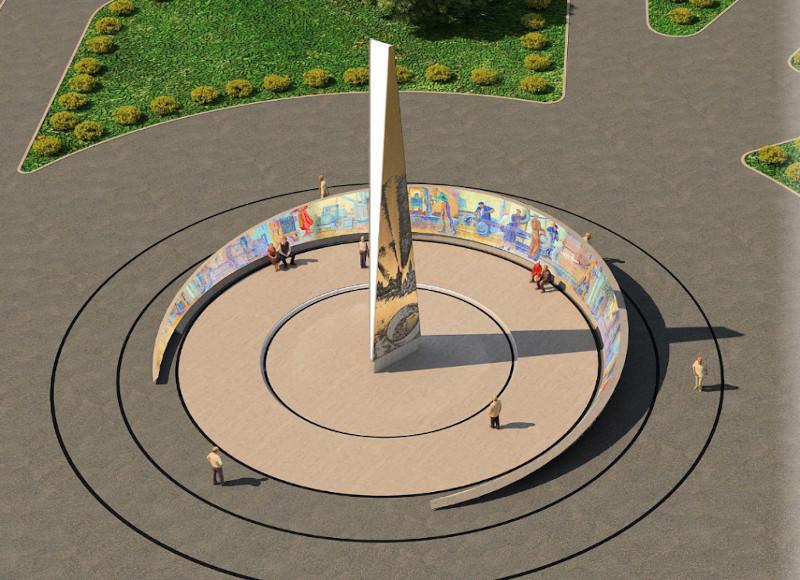 Стало известно, кто изготовит для Омска стелу почти за 60 млн #Новости #Общество #Омск