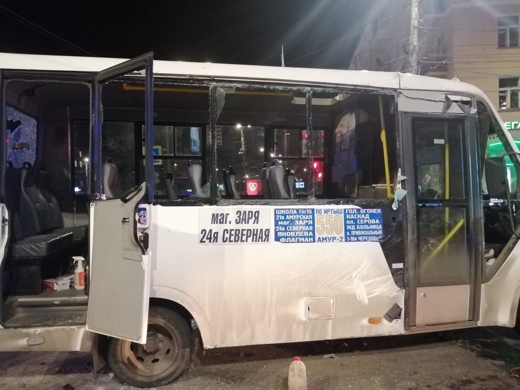 В омском Минздраве рассказали о состоянии пострадавших в ДТП с маршруткой #Омск #Общество #Сегодня