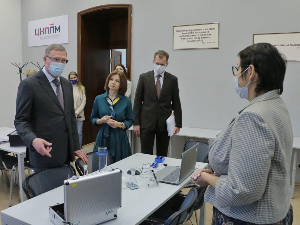 Бурков заявил, что образование в омских школах должно стать лучше #Омск #Общество #Сегодня