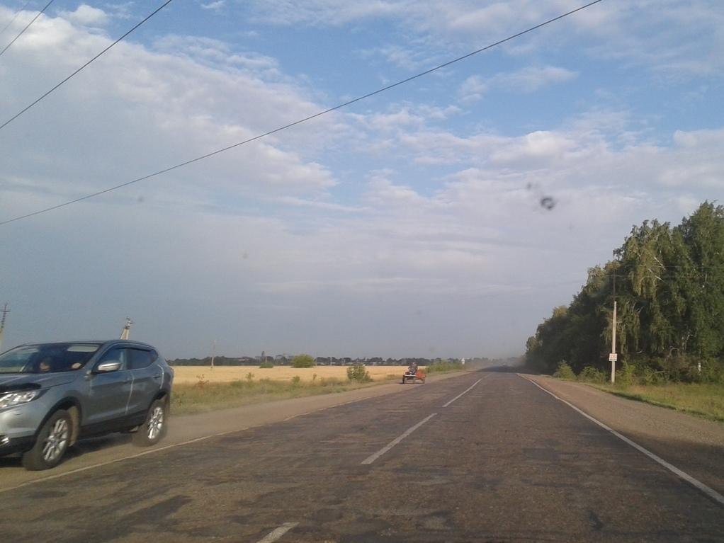 Буркову показали «убитую» дорогу под Омском, которую можно будет не ремонтировать до 2046 года #Омск #Общество #Сегодня