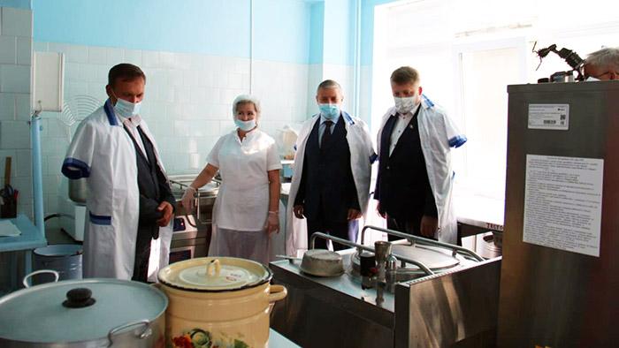 В садике под Омском обновили пищеблок #Новости #Общество #Омск