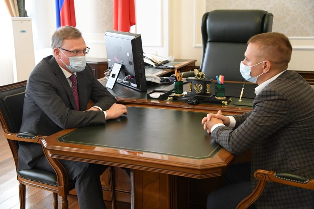 Оппозиционеры заявили Буркову, что черного пиара в Омске нет #Омск #Общество #Сегодня
