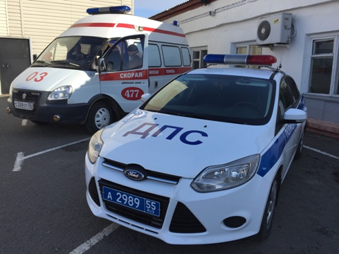 В Омской области мотоциклист въехал в мотоблок и отправился в больницу #Новости #Общество #Омск