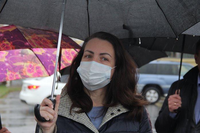 Зачем Фадина устроила объезд по Омску в ливень? #Новости #Общество #Омск