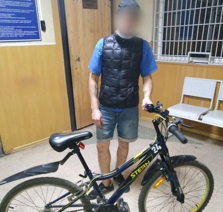 Омич украл велосипед, чтобы уехать домой с Левого берега #Новости #Общество #Омск