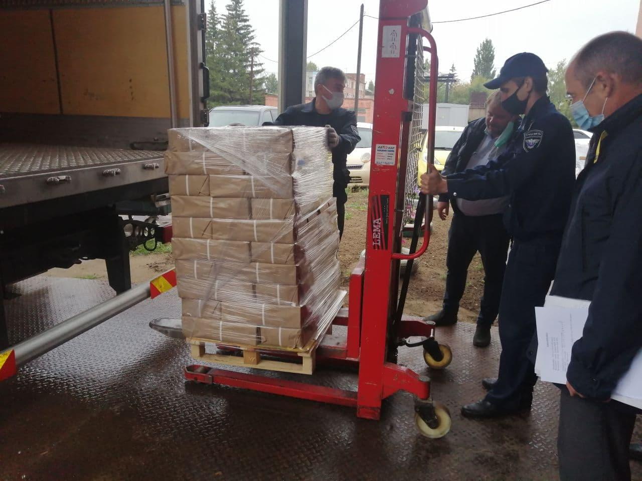 На омские избирательные участки отправили 16 тонн бюллетеней #Омск #Общество #Сегодня