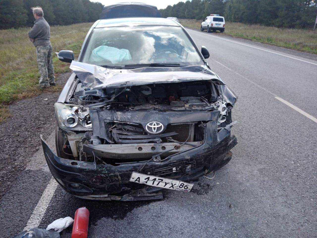 В страшном ДТП на трассе Омск – Тара погибли 2 человека #Омск #Общество #Сегодня