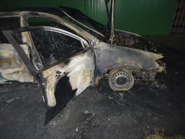 В Омской области мужчина на коне сжег авто бывшей жены #Новости #Общество #Омск