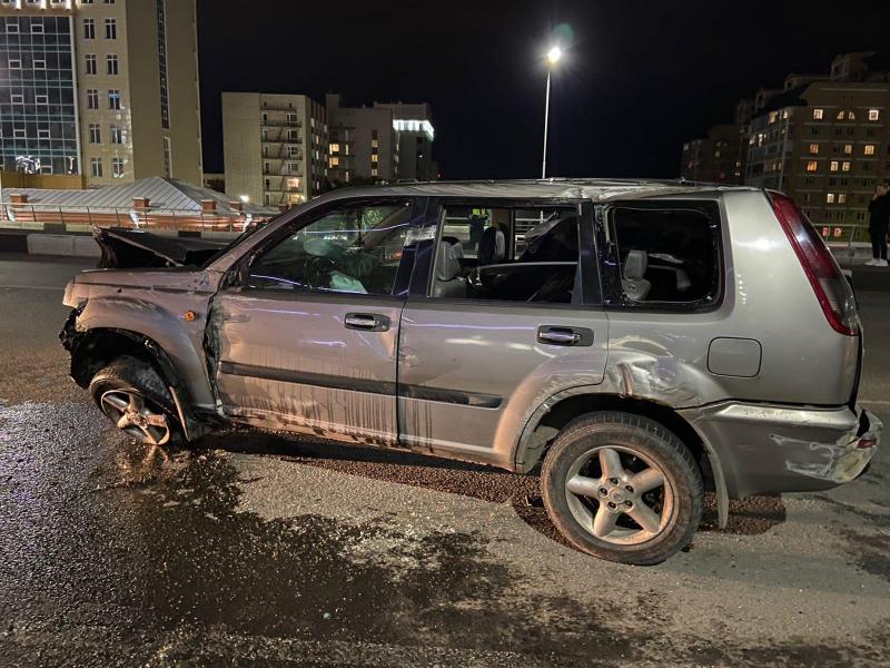 Омич устроил ДТП на метромосту, столкнувшись с пьяным водителем #Омск #Общество #Сегодня