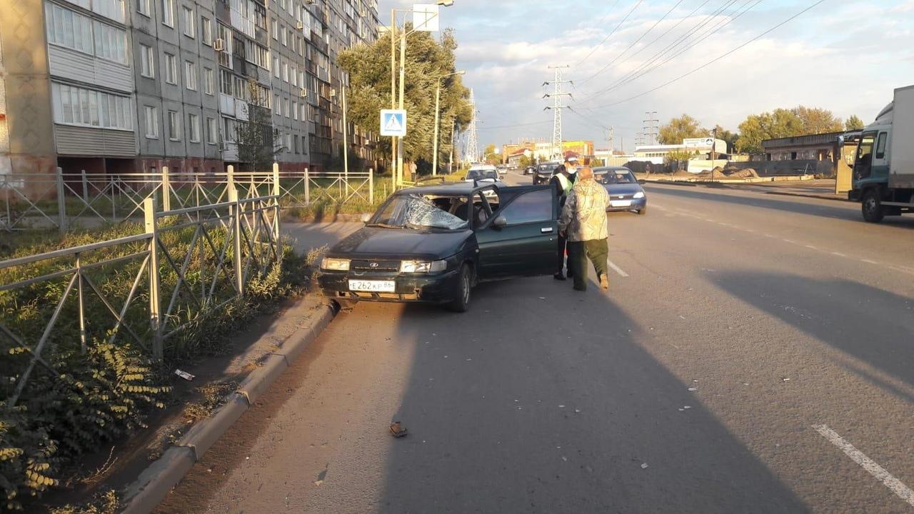 В Омске пьяный водитель сбил на переходе 17-летнего парня #Новости #Общество #Омск
