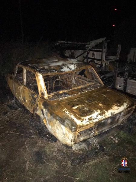 В Омской области отец спалил угнанное сыном авто #Омск #Общество #Сегодня