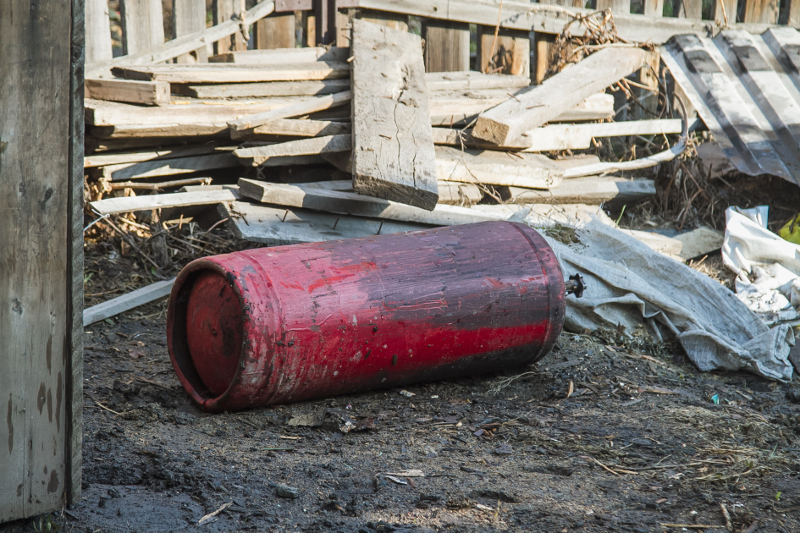 На окраине Омска произошел взрыв газа #Омск #Общество #Сегодня